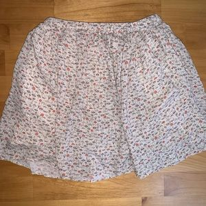 Cute Girls Zara skirt size 11-12 mushrooms